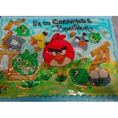Angry birds   / Τιμή κιλού 15,50 €